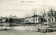 Winsumerdiep met het  huis van mr. A.J. van Rooijen