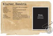 Hendrik kluiter
