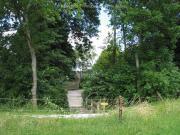 Onderwierum  ingang kerkhof