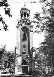 Toren voor de restauratie in 1977